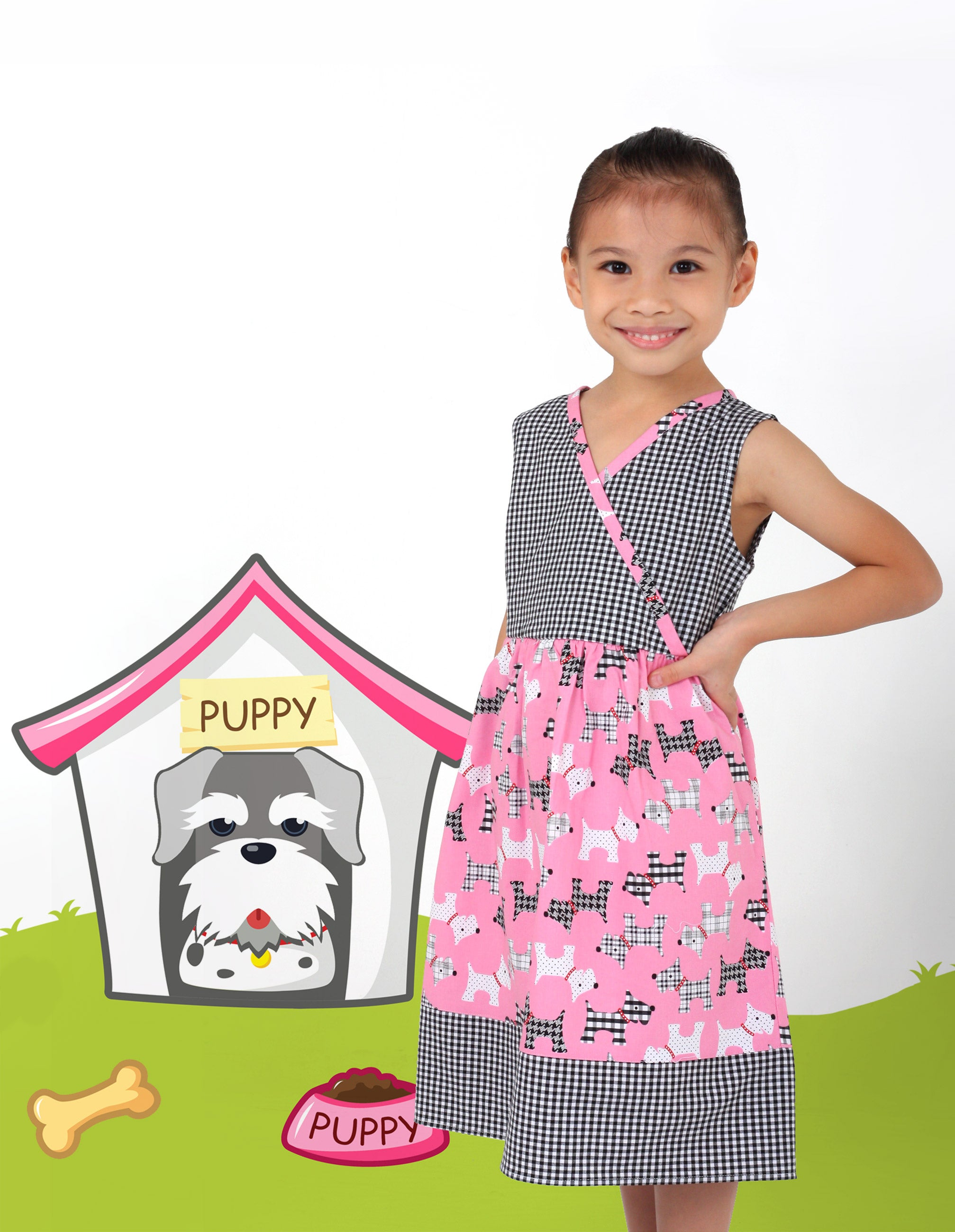 Fortune Dogs & Whiskers Dress