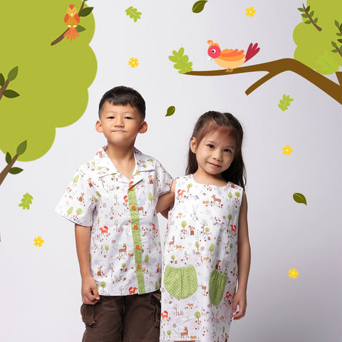 Gentle Forest Pocket Dress