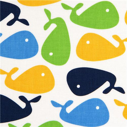 Whales in Bright Boys Shirt