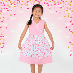 Royal Sampler Megan Dress