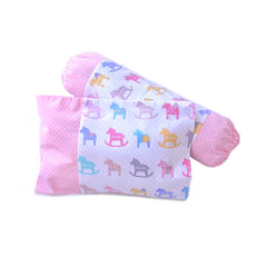 Horsey Rocks Pillow & Bolster Case Set