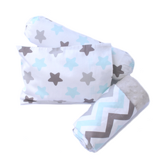 Star Bright Pillow & Bolster Case Set