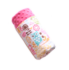Forest Life Minky Blanket