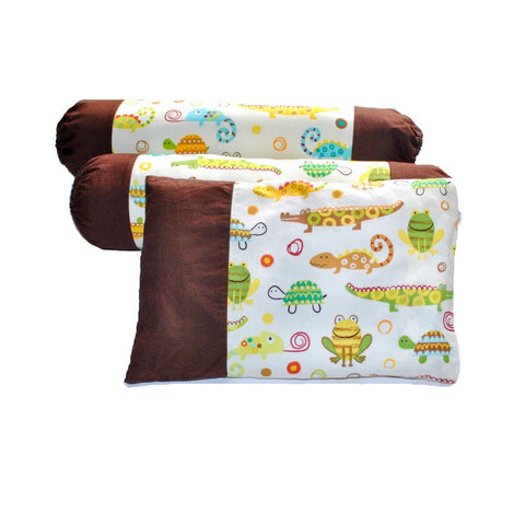 Creepers, Creatures & Critters Pillow & Bolster Case Set