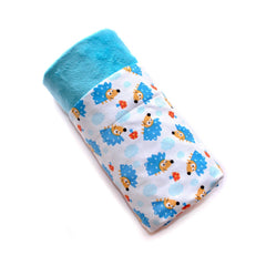 Tossed Hedgehogs Minky Blanket