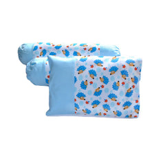 Tossed Hedgehogs Pillow & Bolster Case Set