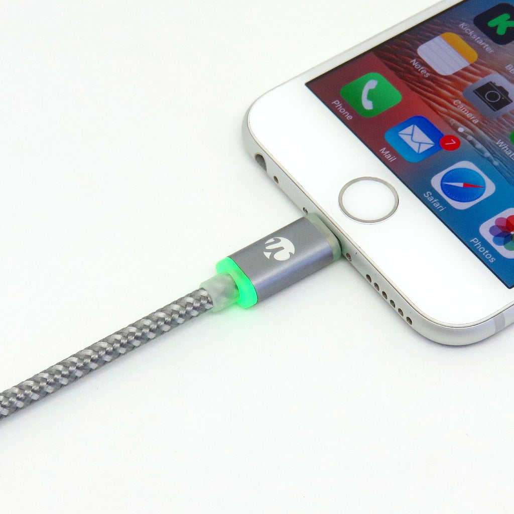 Quickdraw V4 LED MFi Lightning Cable