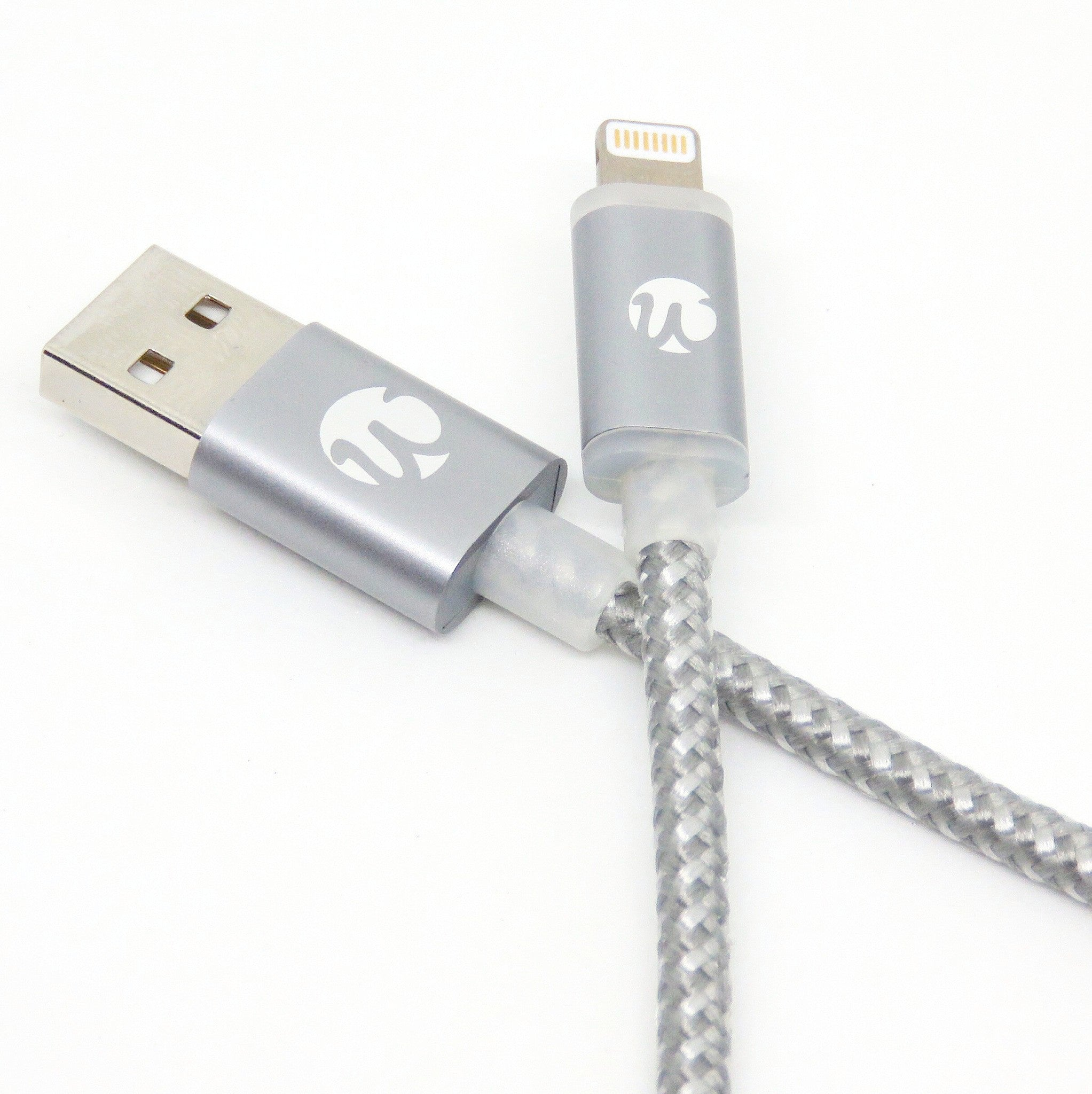 Quickdraw v3 LED MFi Lightning Cable
