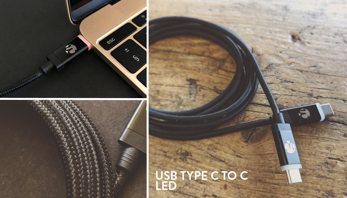 Quickdraw 3.0 Micro USB LED Cable for Android