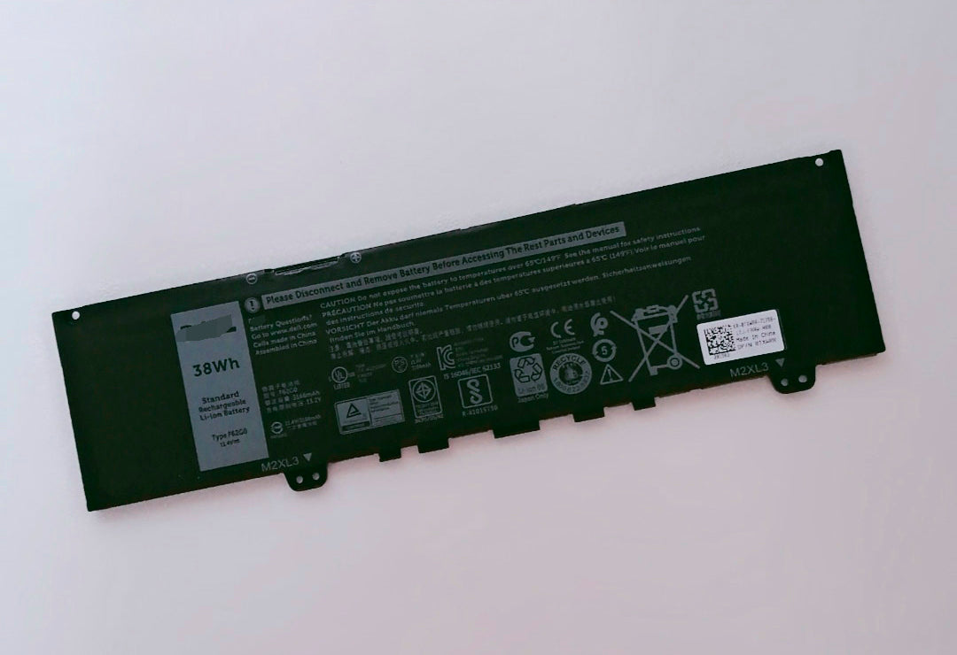 F62G0 Replacement Battery For Dell Inspiron 7373 5370 Vostro 13-5370 F62GO