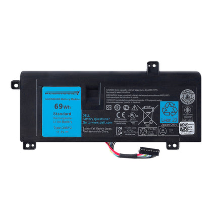 G05YJ Replacement Battery For Dell Alienware 14X R3 M14x R3 Alienware 14