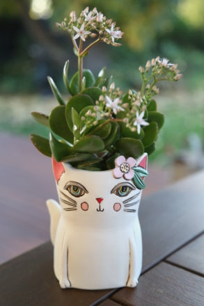 Baby Pretty Kitty planter-pen holder