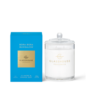 Glasshouse - Bora Bora  Bungalow Candle 380g