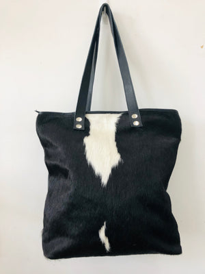 Cowhide/ Leather Shoulder Bag