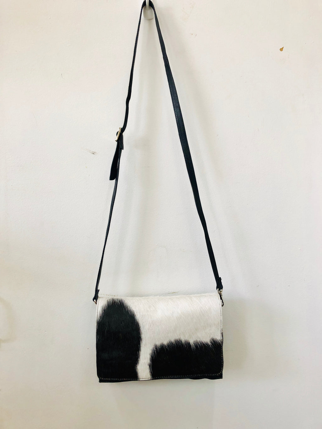 Cowhide Leather Sling Bag