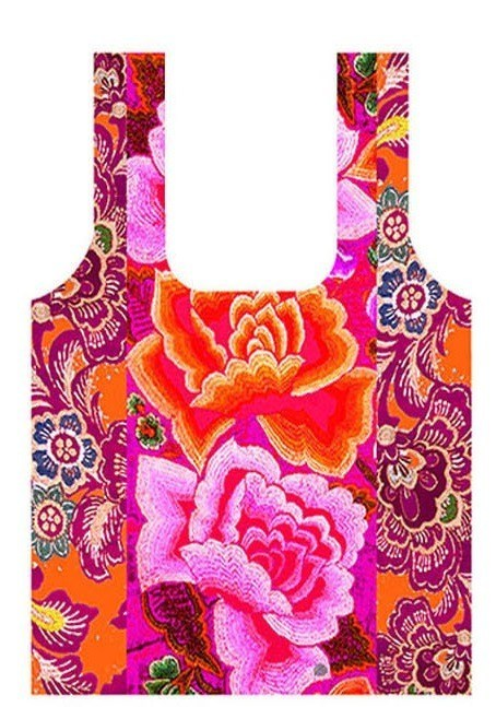Mexican Roses Shopping Bag