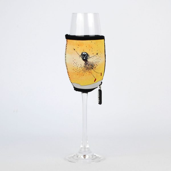 Champagne Glass Cooler Effervescent