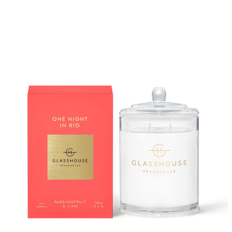 Glasshouse One Night in Rio  380g Candle