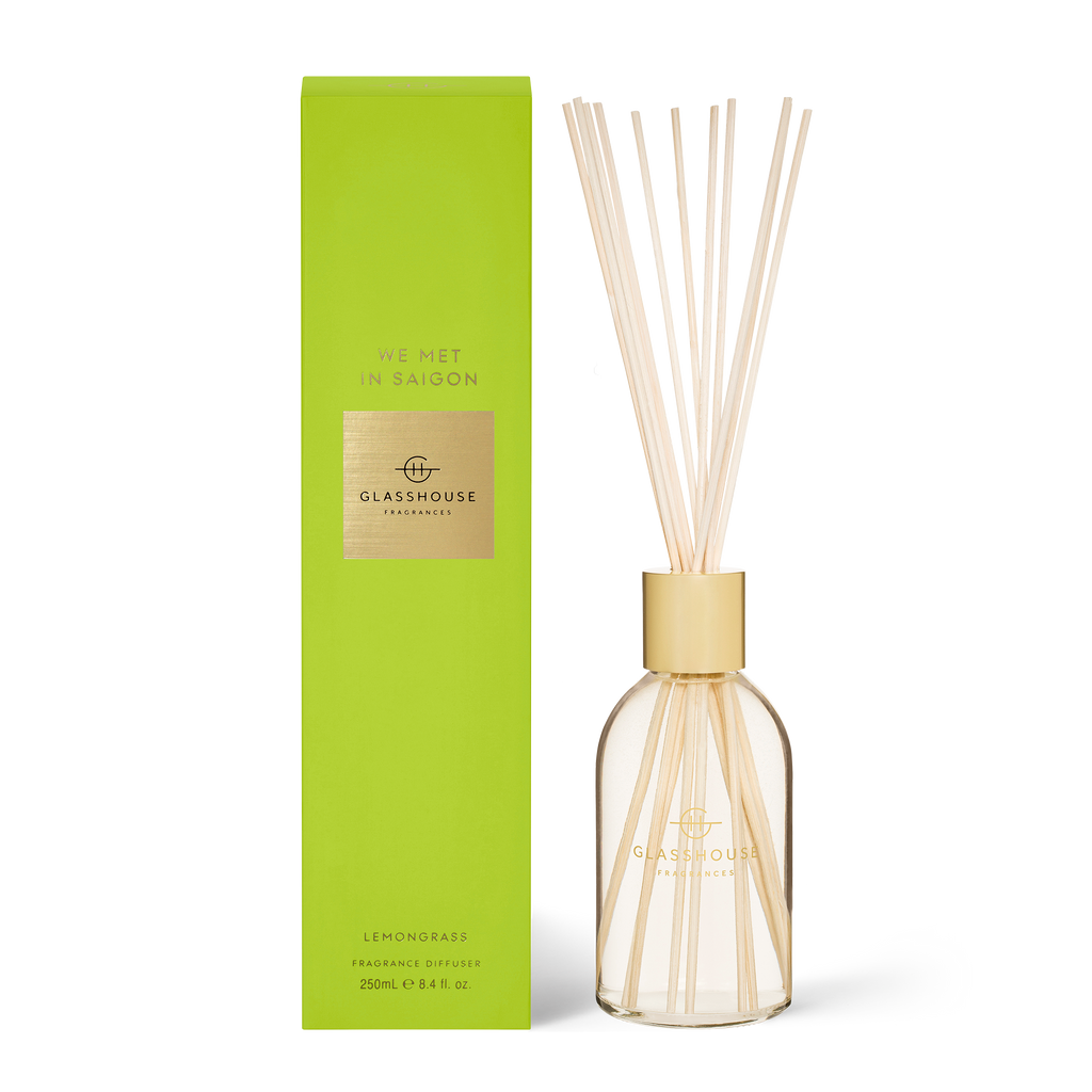Glasshouse We Met in  Saigon- Lemongrass 250ml Diffuser