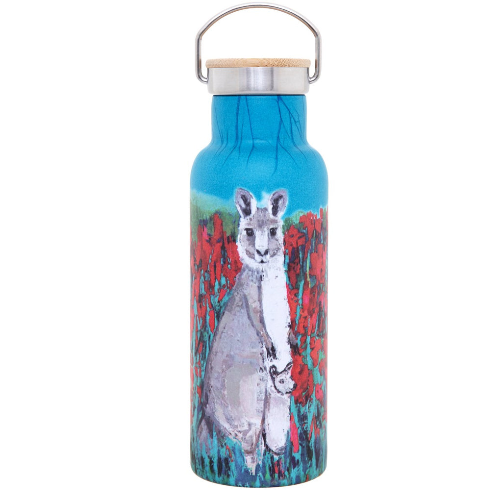 INSULATED SS BOTTLE 500ML - KANGAROO