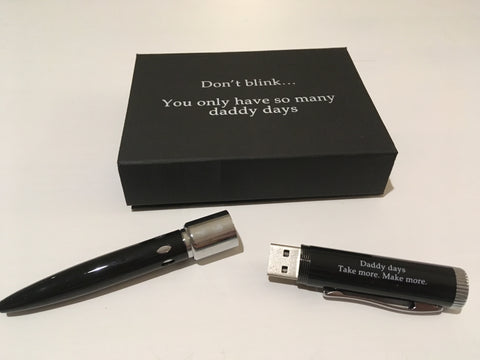 Daddy Days USB Pen with Gift Box