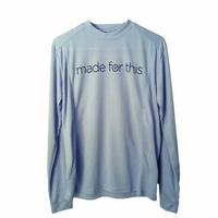 Made for This - Long Sleeve Performance T-Shirt - Blue