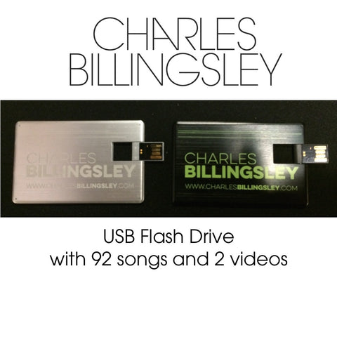 Flash Drive - includes 92 songs