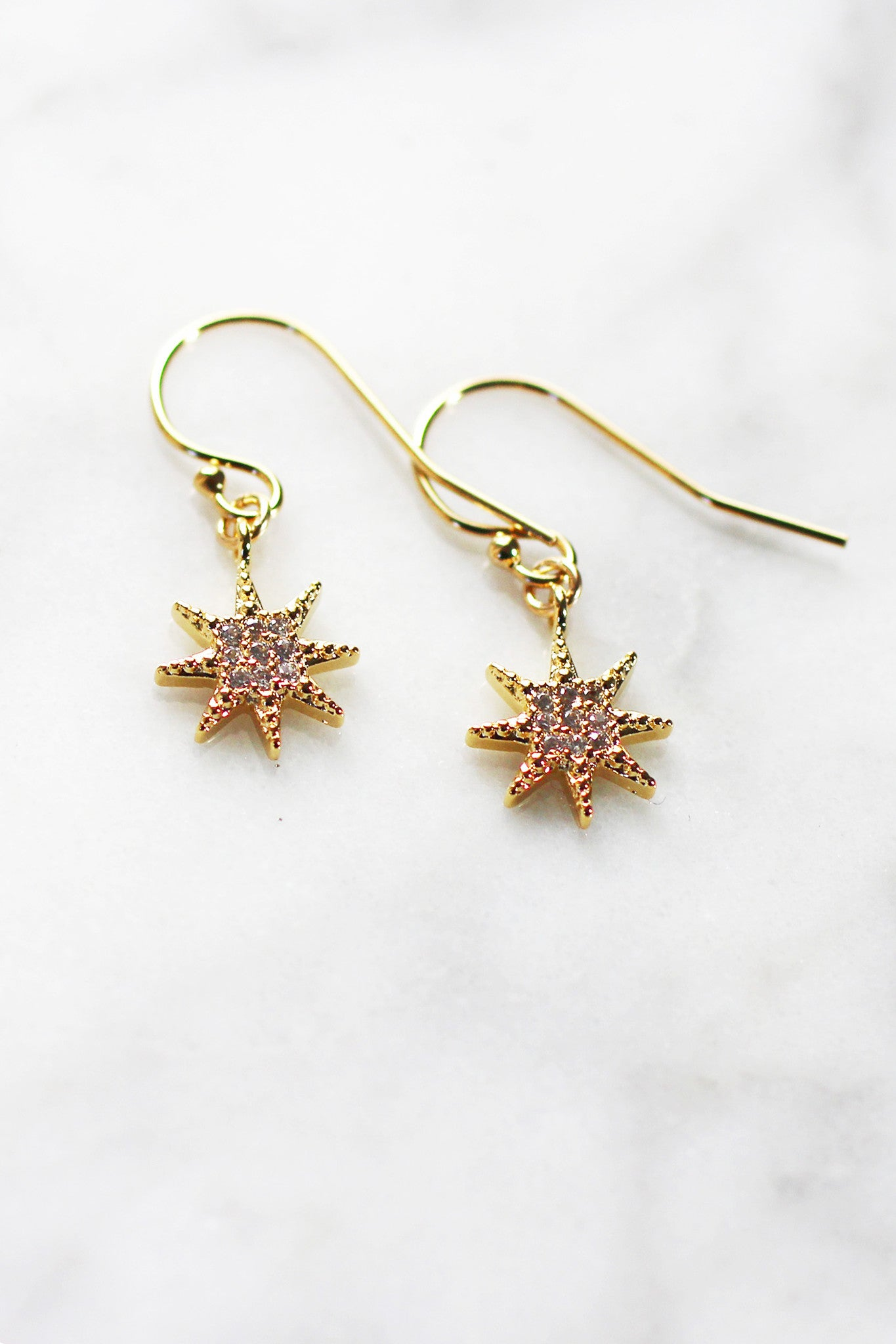STARBRITE DROP EARRINGS - Christine Elizabeth Jewelry™ - Glamour and Glow
