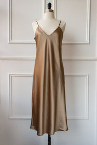Elise Satin Slip Dress