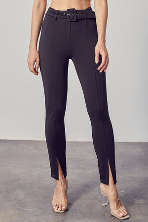 leggings with slits