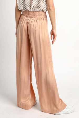 Charlize Striped Flowy Pants