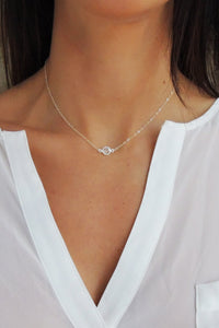 Crystal Solitaire Necklace - Christine Elizabeth Jewelry™ - Glamour and Glow  - 1