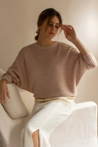 lightweight neutral sweater