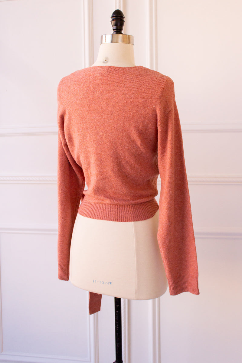 Caterina Wrap Sweater