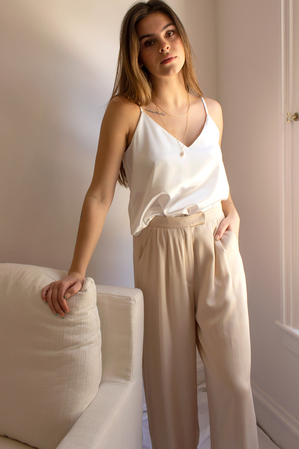 spring fashion trend - pleated pants