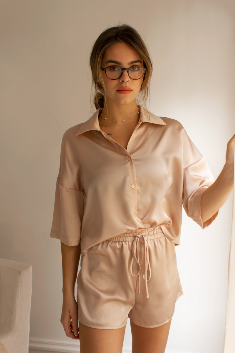 Cache Satin Blouse