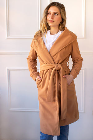 Kennedy Coat - camel