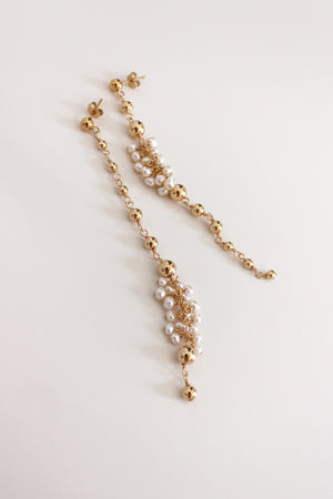 pearl and gold jewelry