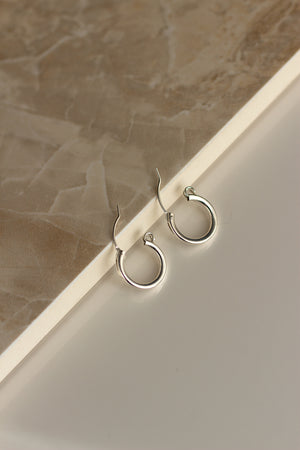 Mini Hoop Earrings - Christine Elizabeth Jewelry