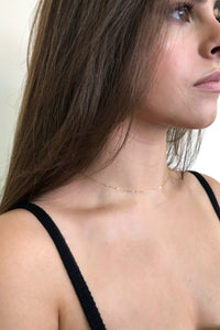 Pearl Back Drop Necklace - Christine Elizabeth Jewelry