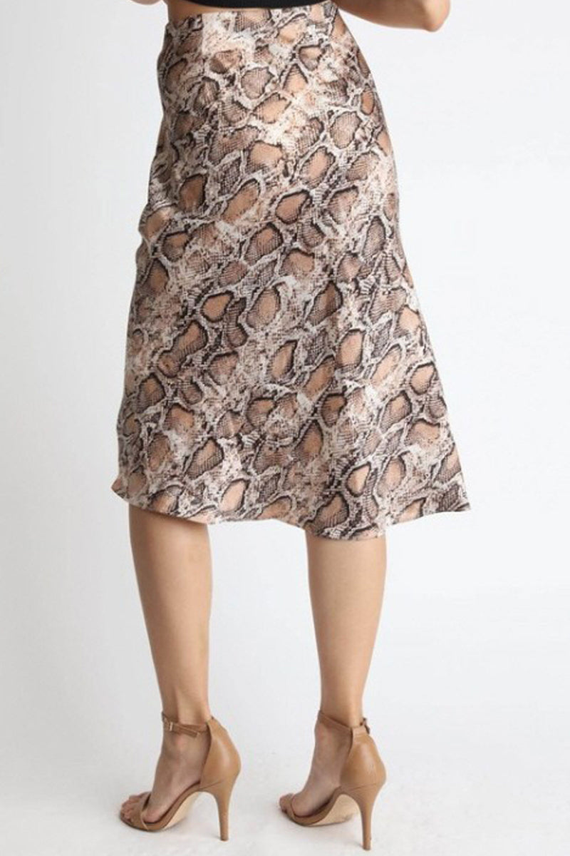 Serpetina Silk Skirt