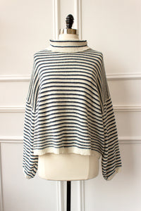 Riviera Striped Sweater