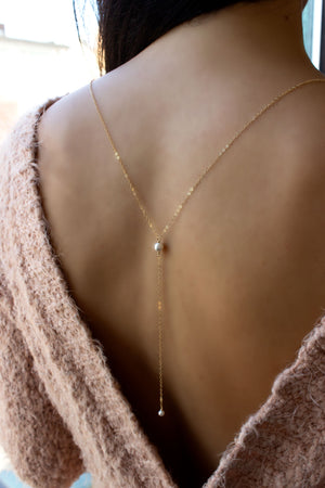 back drop necklace
