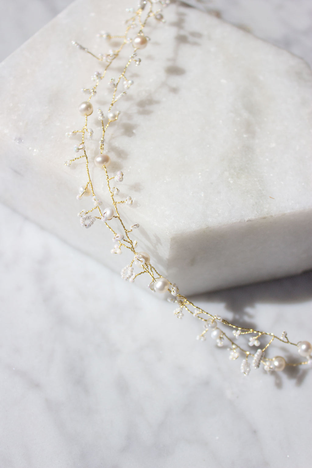 Breathless Extra Long Hair Vine - Christine Elizabeth Jewelry