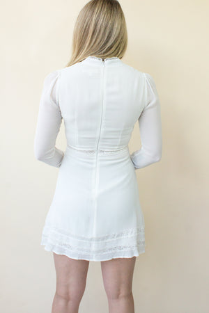 affordable white dress