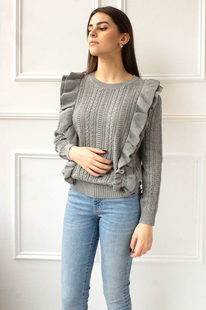 Felicity Sweater - grey