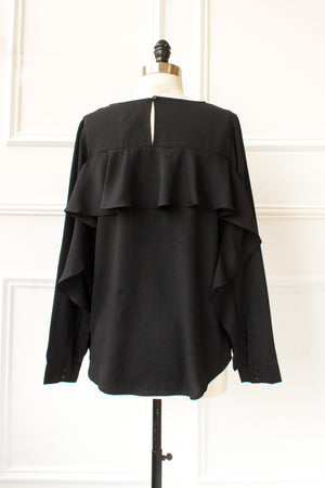 Isla Blouse - black