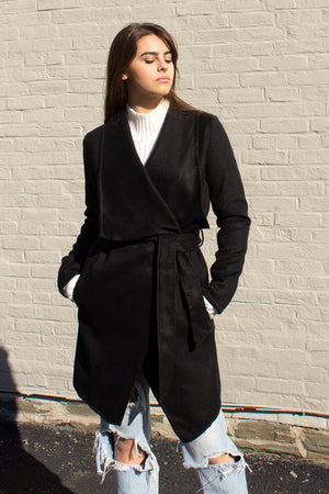 affordable black jacket