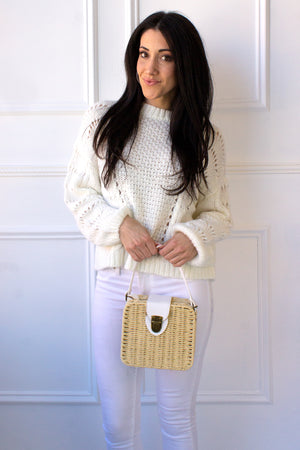 Persephone Sweater - cream