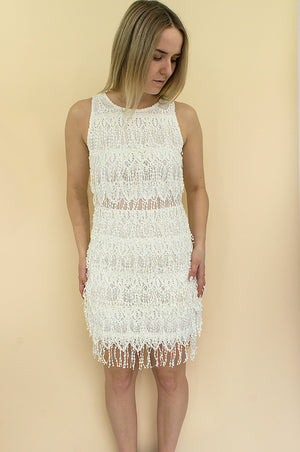 dress with fringe